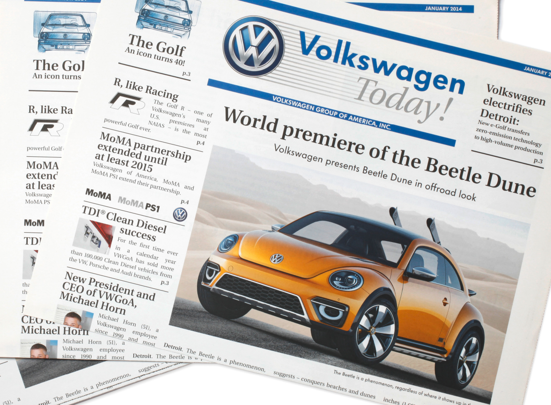 dlx | VW | Zeitung