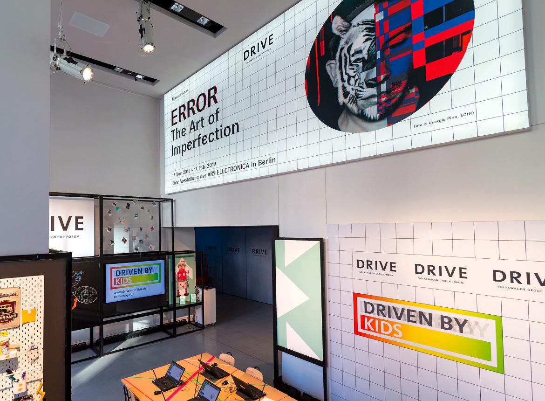 Deluxe Ausstellungssystem Drive