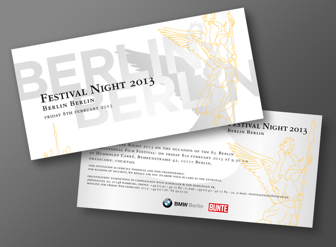 Festival Night 2013 – BURDA