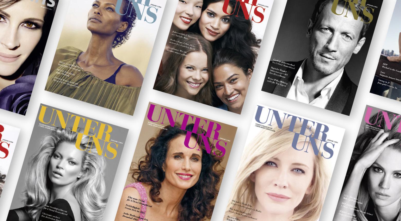 Deluxe L'Oréal Mitarbeitermagazin
