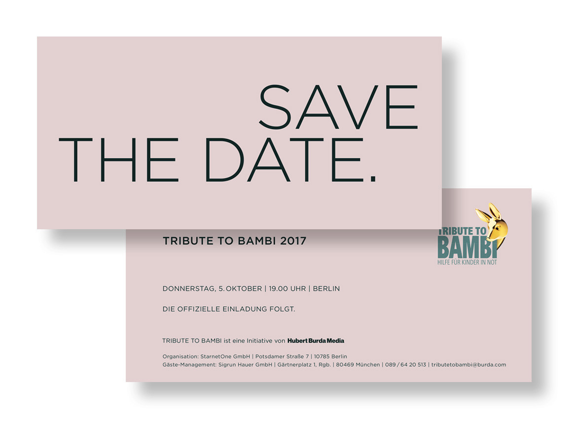 tribute to bambi-charity 2017 – BURDA
